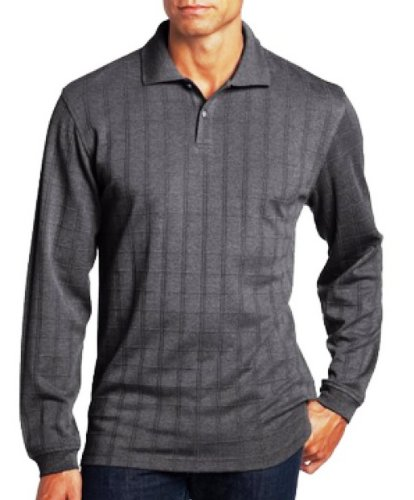 Van Heusen Mens Polo Shirt Big Tall 2xlt Long Sleeve