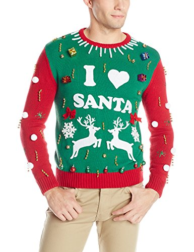 the ugly christmas sweater kit comes with a cotton crewneck sweater and all the decorations you need to make your own personalized ugly christmas sweater - Ugly Christmas Sweaters Cheap