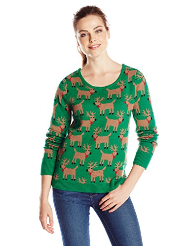 Isabella 39 S Closet Women 39 S All Over Reindeer With Rudolph