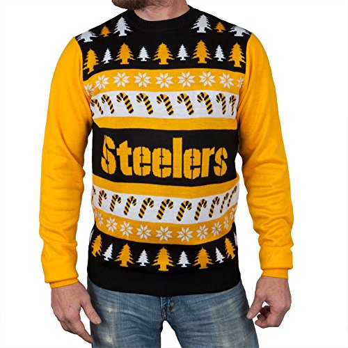 best service 95a55 52a30 NFL Pittsburgh Steelers One Too Many Ugly Sweater, XX-Large ...