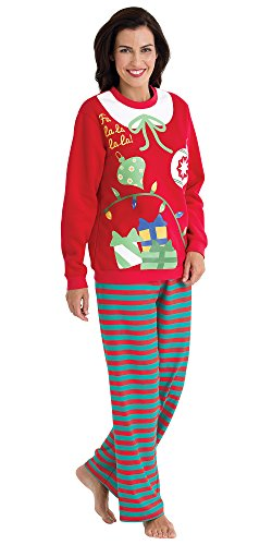 matching ugly christmas sweater pajamas for the whole family womens 2x 20 22