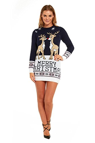 embrace the spirit of the festive season with a sweater thats sophisticated and classic yet with a charming christmas splash