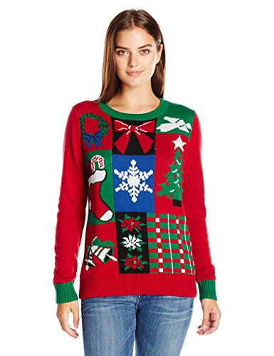Blue Ugly Christmas Pullover 50274