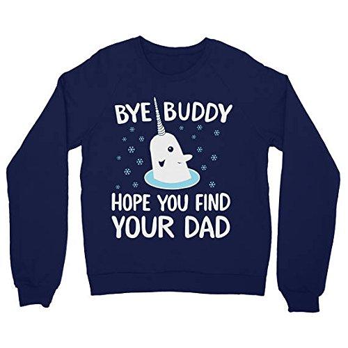 9bbba766 Ugly Christmas Sweater women men unisex sweatshirt bye buddy elf the movie  narwhal