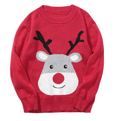 Encontrar Baby Boys Girls Ugly Christmas Sweater 1deer Red 5t Ugly