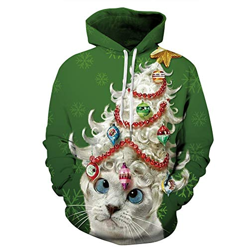 Anime Christmas Sweater.Gloria Sarah Plus Size Unisex Cute 3d Printed Ugly Christmas
