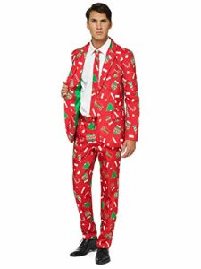 Xmas Sweater Blazer OFFSTREAM Ugly Christmas Jackets for Men in Different Prints