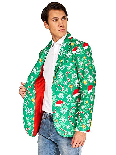 OFFSTREAM Ugly Christmas Jackets for Men in Different Prints